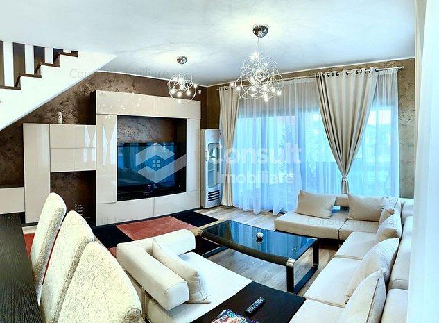 Casa tip duplex de inchiriat in zona Eugen Ionesco, Europa, Cluj - imaginea 1