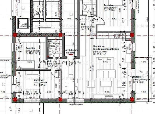 Apartament 4 camere constructie noua: 5