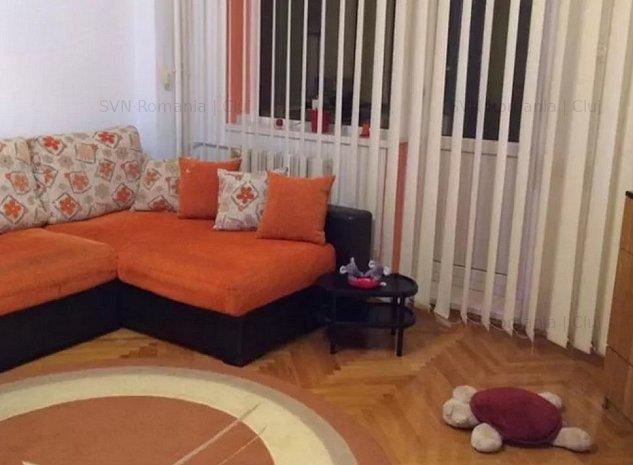Apartament cu 2 camere Zorilor: camera