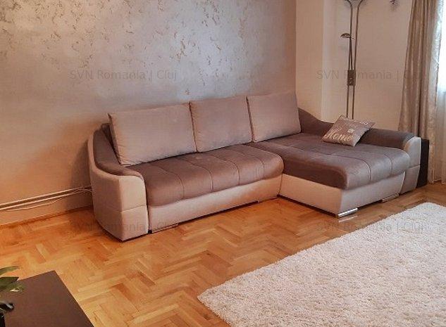Apartament cu 3 camere Manastur: living