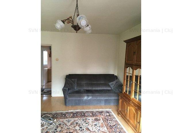 Apartament cu 2 camere Plopilor: camera