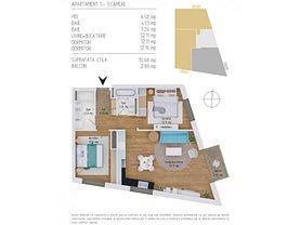 Apartament de vânzare 3 camere, în Cluj-Napoca, zona Baciu