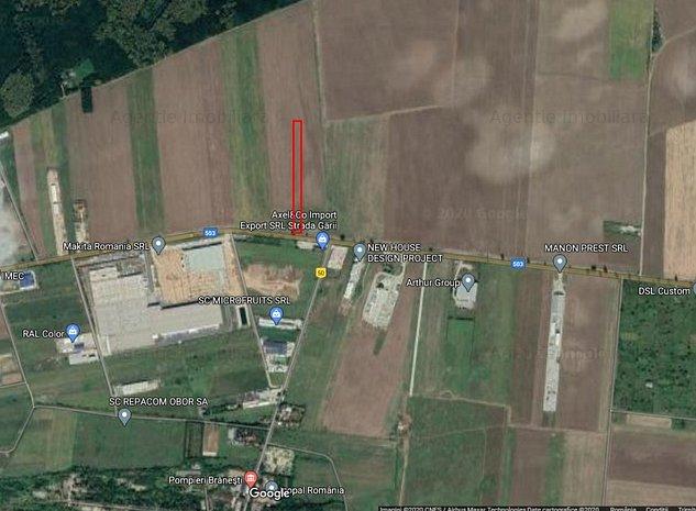 Teren 3752 mp DN3 - Branesti / Makita - imaginea 1
