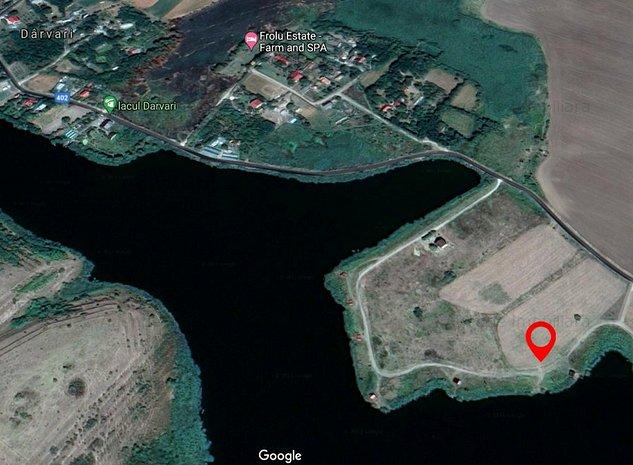 Terenul ideal 1058 mp - Lac Darvari / Fundulea - imaginea 1