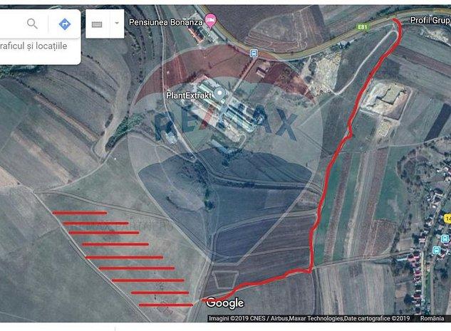 Vanzare teren 24000mp INTRAVILAN - multiple posibilitati de dezvoltare - imaginea 1