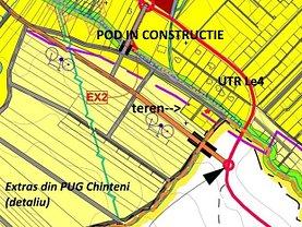 Teren constructii de vânzare, în Chinteni, zona Central