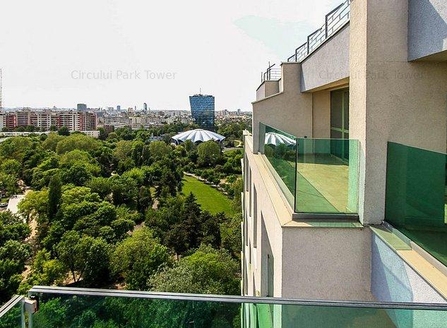 Penthouse 3 camere Circului Park Tower - Etaj 15 - imaginea 1