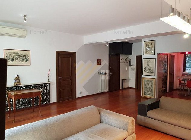 Apartament 4 camere + 115mp terasa + Garaj si boxa / Parcul Verdi / Floreasca - imaginea 1