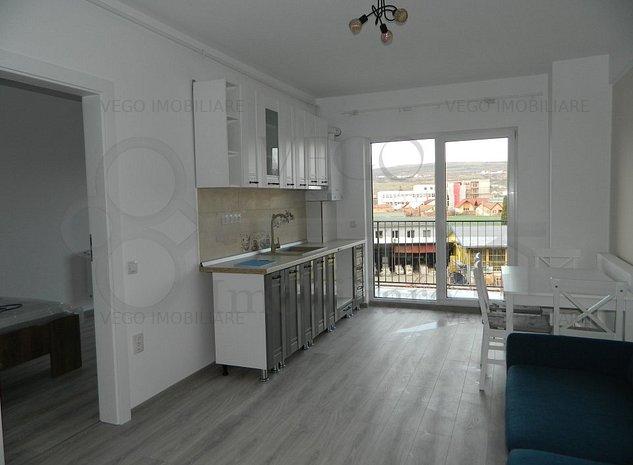 Apartament cu 2 camere in bloc nou, finisat si mobilat, zona Marasti - imaginea 1