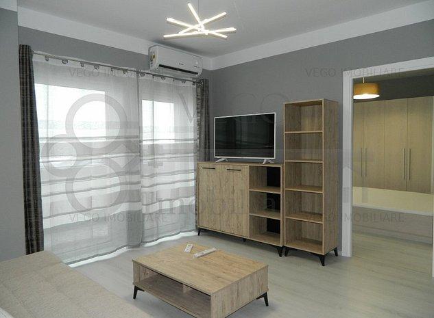 Prima inchiriere! 2 camere in bloc nou, garaj subteran, zona Marasti - imaginea 1