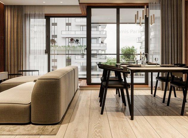 Apartament 2 camere 61 mp utili in Ansamblul Rezidential TOMIS PARK Constanta - imaginea 1