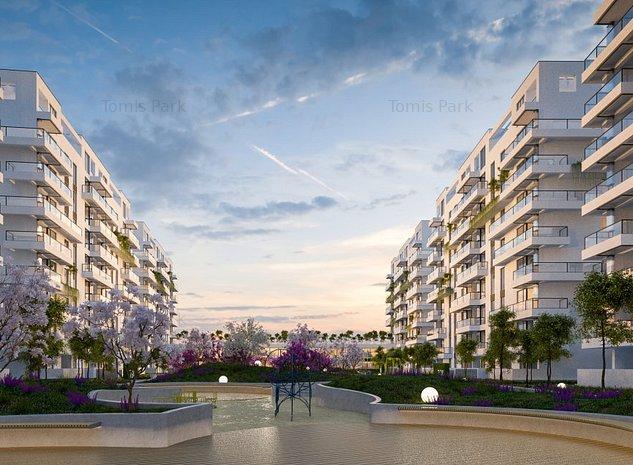 Apartament 2 camere 60 mp utili in Ansamblul Rezidential TOMIS PARK Constanta - imaginea 1
