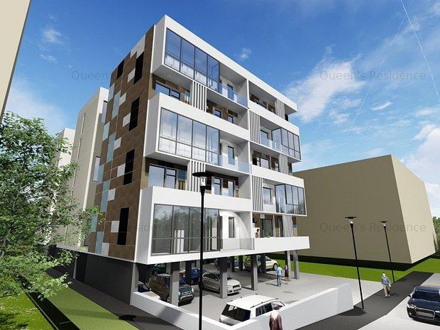 Campus-Queen's Residence, apartament 2 camere, proiect deosebit - imaginea 1