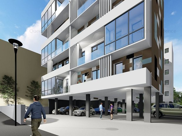 Campus-Queen's Residence, apartament 3 camere, proiect deosebit - imaginea 1