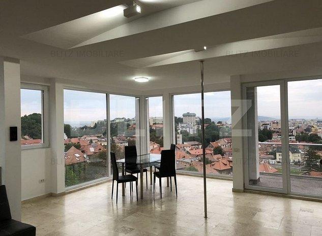 Apartament cu 2 camere, de lux, cu panorama, Dealul Cetatii - imaginea 1