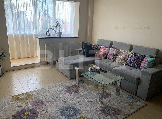 Apartament cu 2 camere, semidecomandat, in zona Gemenii - imaginea 1