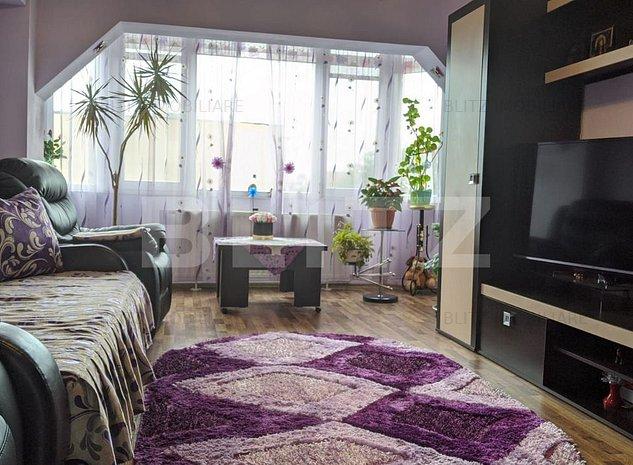 Apartament spatios, 3 camere, zona Tractorul - imaginea 1