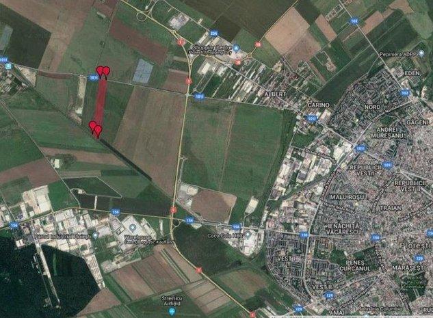 Vanzare teren extravilan comuna Paulesti: Amplasare in zona