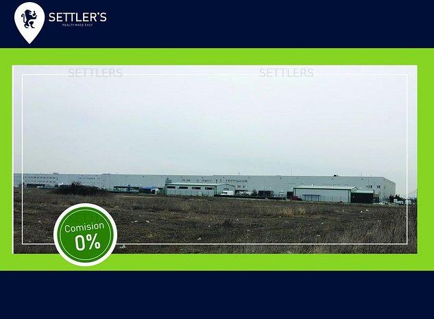 Teren 53500mp langa Chitila Logistic Park/ Hiarom - imaginea 1