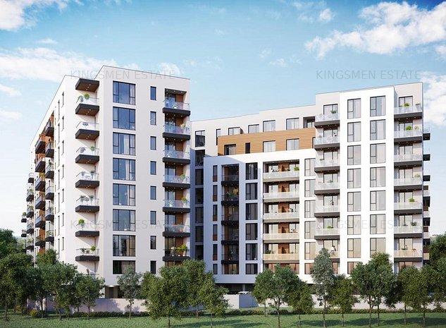 Apartament 2 camere deosebit cu terasa in centrul Bucurestiului! - imaginea 1