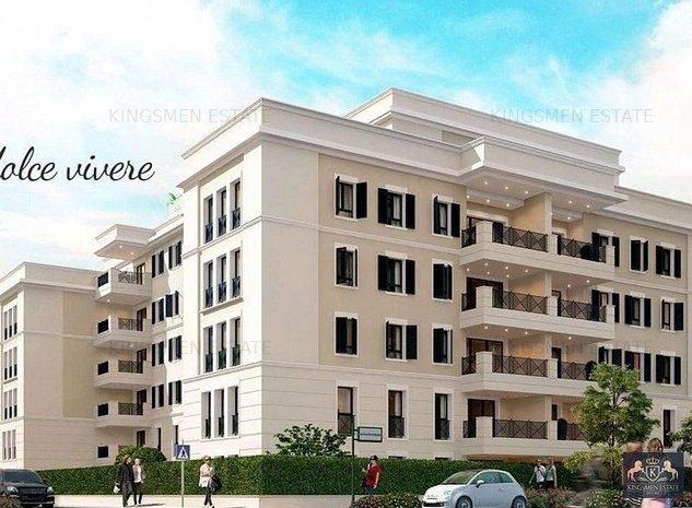 Apartament premium 2 camere intr-un complex spectaculos Baneasa - imaginea 1