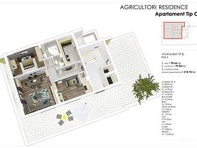 Penthouse de vânzare 3 camere, în Bucuresti, zona Calea Calarasilor