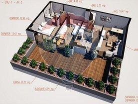 Apartament de vanzare 3 camere, în Ramnicu Valcea, zona Agrement Ostroveni