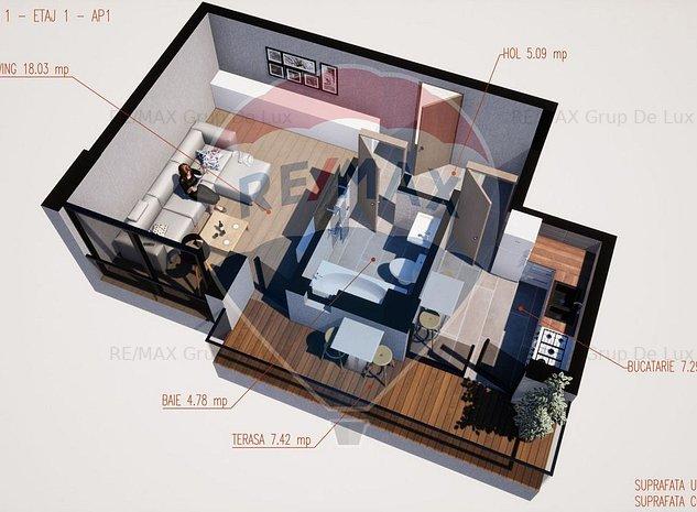 Garsoniera | COMISION 0% | Direct de la dezvoltator - imaginea 1