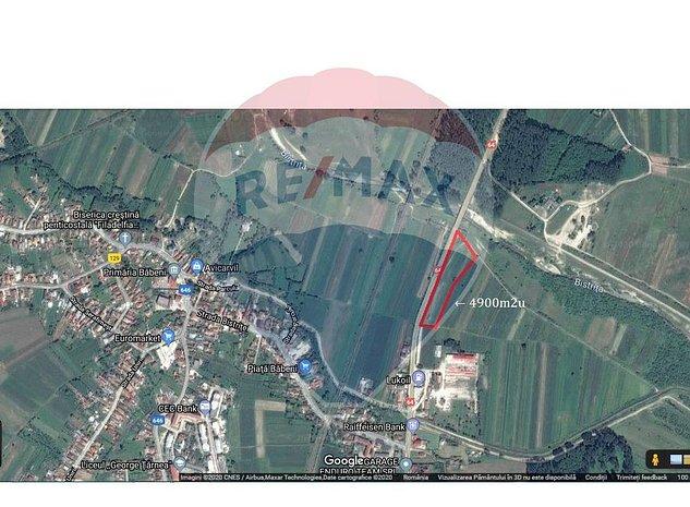 Teren 4,900mp Ramnicu Valcea / Calea Lui Traian - imaginea 1