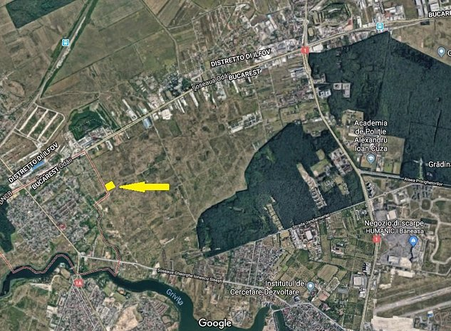 Teren 9.044mp Intravilan constructii Zona Sisesti - imaginea 1