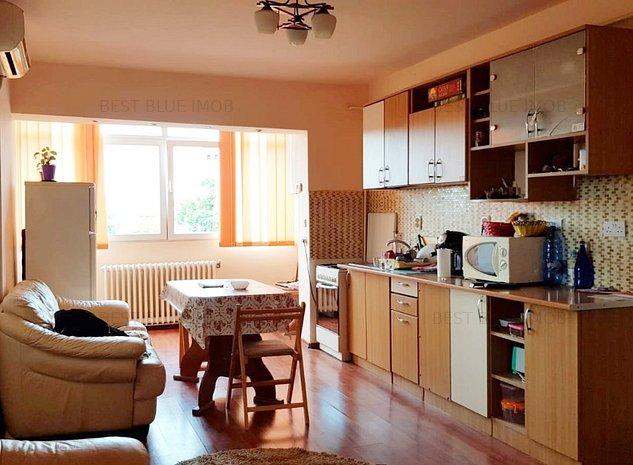 ULTRACENTRAL - Apartament 3 camere, mobilat/utilat, bloc pe cadre - imaginea 1