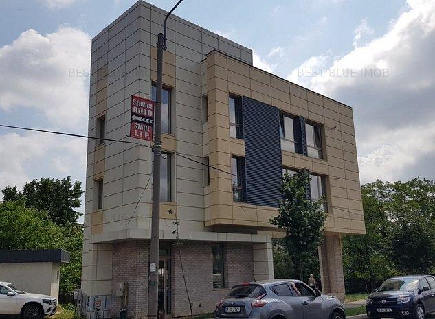 Central - Podu Ros - Cladire birouri 120 mp, constructie 2020 - imaginea 1