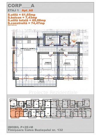 Dezvoltator imobiliar - Apartamente 3 camere - imaginea 1