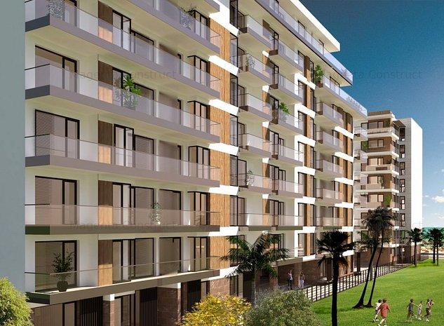 APARTAMENT 2 CAMERE + GRADINA CU VEDERE LA MARE - Tomis Villa Promenada, Mamaia - imaginea 1
