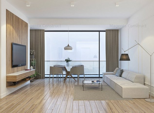Apartament de lux 3 camere, bloc nou, zona Centru - Tomis Villa Center - imaginea 1