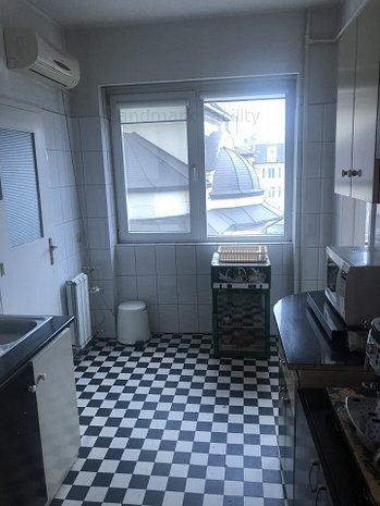 Vand apartament spatios 3 camere ultracentral -MAGHERU, etaj 3 - imaginea 1