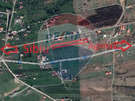 Teren constructii de vânzare, în Sibiu, zona Est