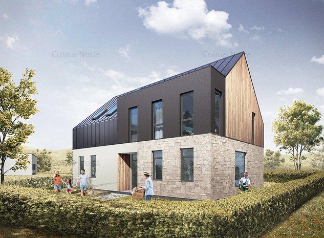 Vila Noua- cea mai contemporana abordare arhitecturala dintre casele Colina Nouă - imaginea 1