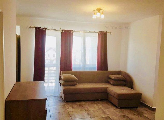 Penthouse pe doua niveluri, terasa de 38mp, Sanpetru, Brasov - imaginea 1