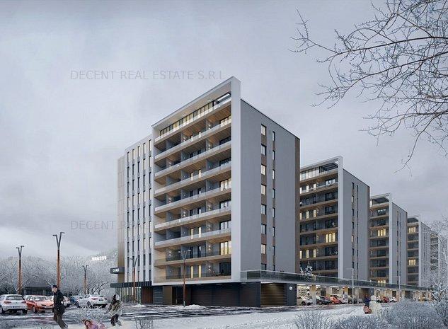 Apartament 2 camere, Bloc 2, Tractorul - imaginea 1