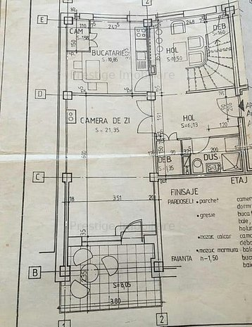 Duplex 3 camere, spatios,situat in Cartier E3 - imaginea 1
