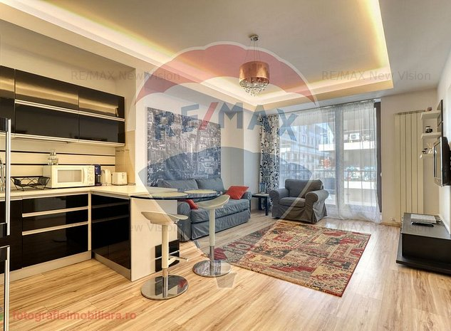 Apartament 2 camere de lux Herestrau-North Area Lake View - imaginea 1