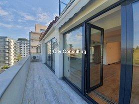 Penthouse de vânzare 3 camere, în Bucureşti, zona Barbu Văcărescu