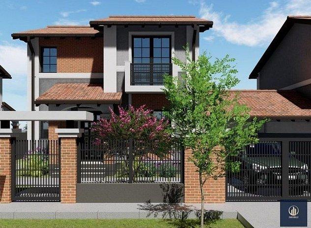 Comision 0! Duplex P+1, 5 camere, 104mp, garaj, teren 375mp, Sacalaz! - imaginea 1