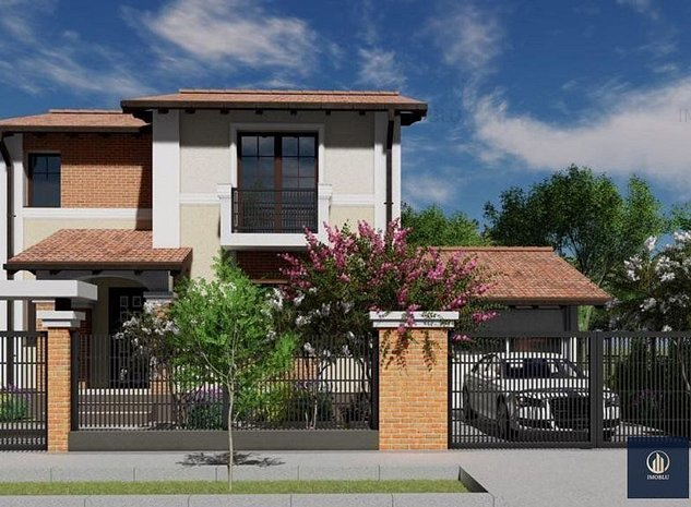 Comision 0%! Casa individuala, P+1, 126mp, garaj, 589mp teren, Sacalaz - imaginea 1