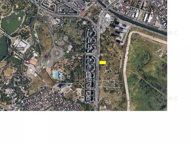 Vanzare teren Calea Vacaresti-Splaiul Unirii-stradal - imaginea 1