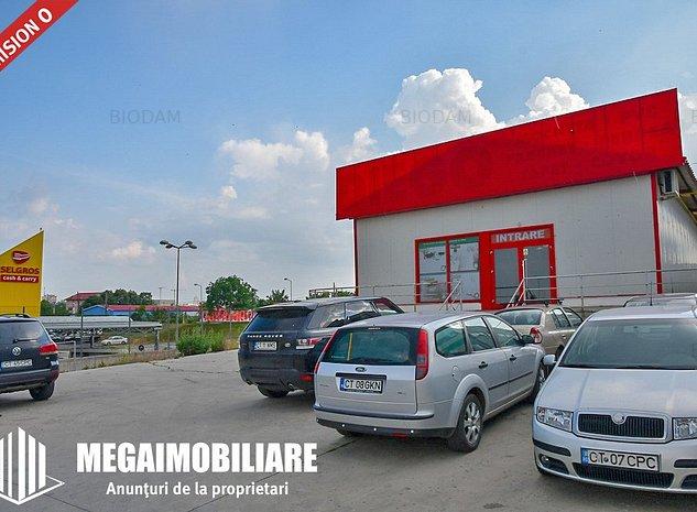 #Spaţiu 350m² de închiriat – ideal hală/ showroom - zona Carrefour, Constanța - imaginea 1