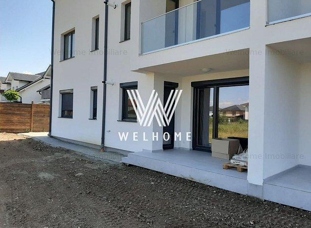 Apartament 2 camere, 60 mp, cu gradina 65 mp, in Calea Cisnadiei - imaginea 1