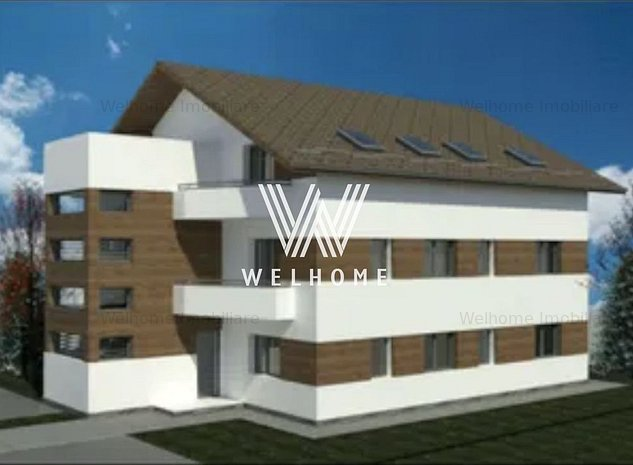 Apartament 3 camere, 63mp, Calea Cisnadiei Sibiu - imaginea 1
