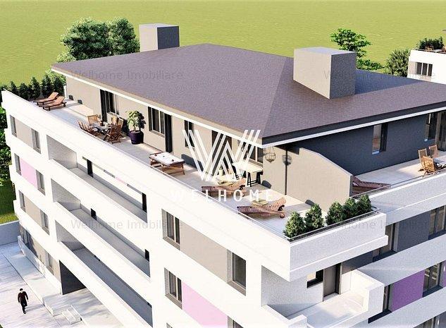 Penthouse 3 camere, terasa 120 mp , Calea Surii Mici, Sibiu - imaginea 1